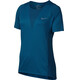 Nike Zonal Cooling Relay Running - T-shirt course à pied Femme - Bleu pétrole
